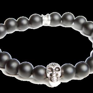 Gemini Armband - Skull Black Mat-0