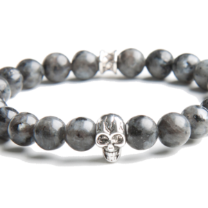 Gemini Armband - Skull Grey -0
