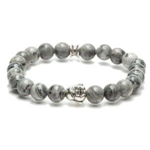 Gemini armband - buddha grey-0
