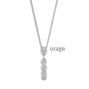 Orage halsketting - AP037-0
