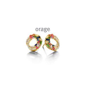 Orage oorbellen - AP064-0