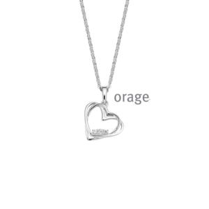 Orage halsketting - V1330-0
